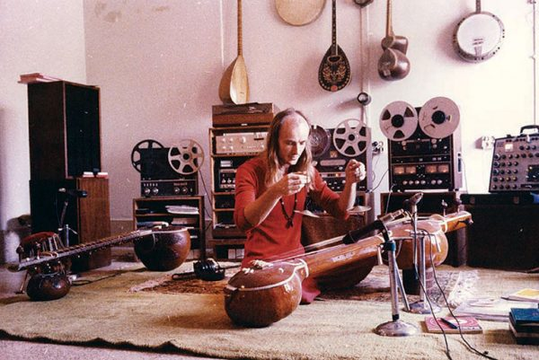 Deuter in his Studio in the Ashram in Pune