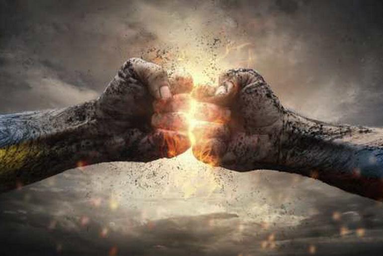 Fist battle