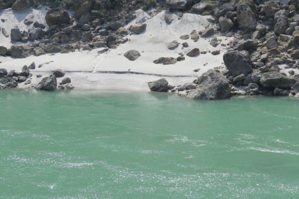 Ganges at Phool Chatti, Rishikesh