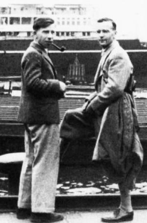 Hermann Korn and Henno Martin