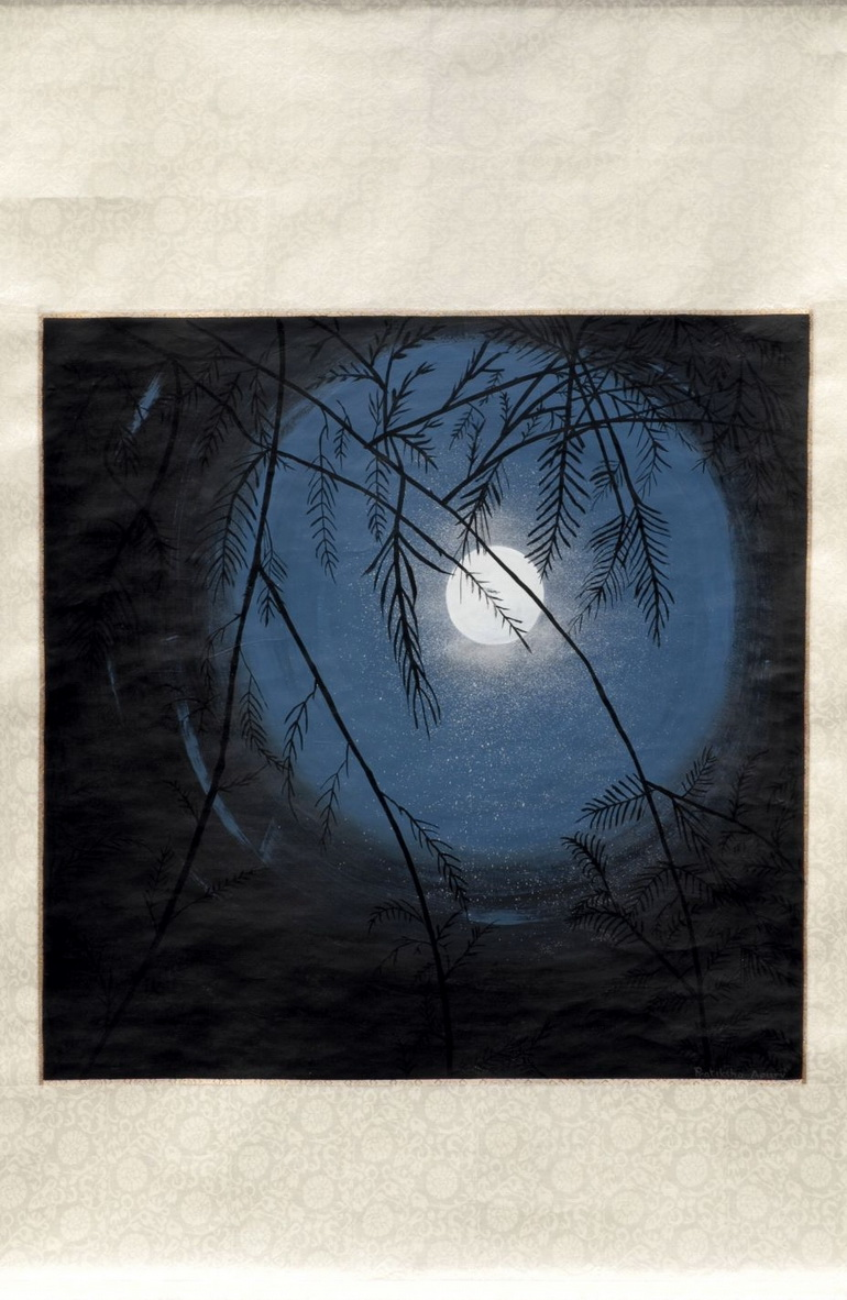 The Blue Moon, painting by Pratiksha Apurv