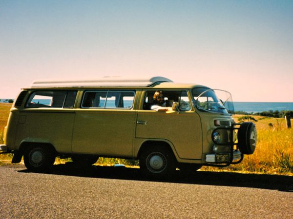 Our trustworthy VW camper van