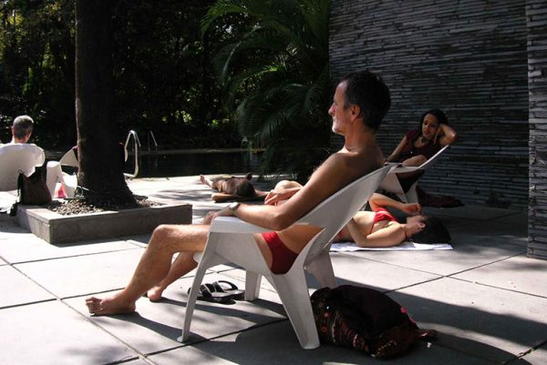 On my meditation retreat in 2009