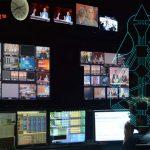 newsroom with Human Design lines
