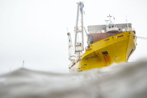 great yellow ship