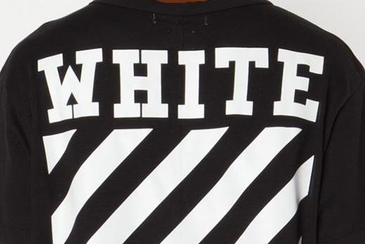 t-shirt saying WHITE