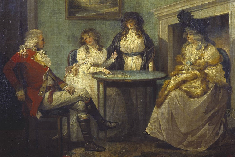 George Morland (1763-1804): The Fortune Teller
