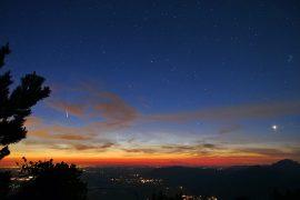 Comet Neowise by Mahendra Myshkin