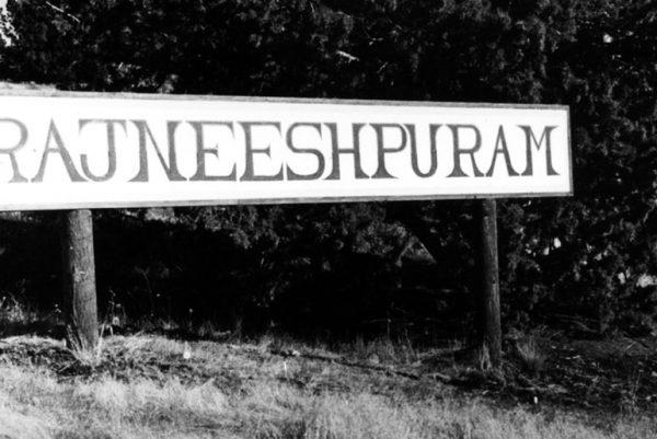 First Rajneeshpuram sign