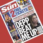 Depp beat me up - Sun