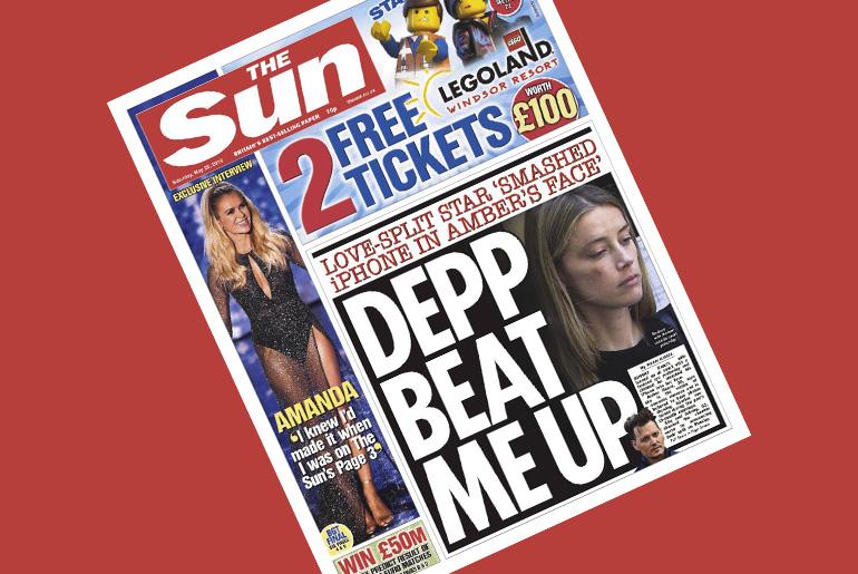 Johnny Depp pierde juicio contra periódico al que acusó de difamación por  afirmar que él sí agredió a Amber Heard - The Couch