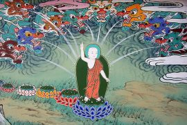 Buddha after birth