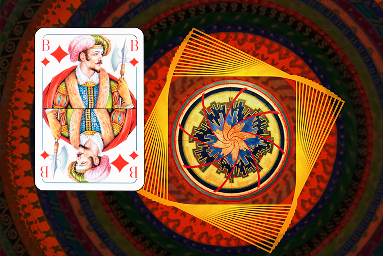 The Tarot of the Traveller: The Jack of Diamonds