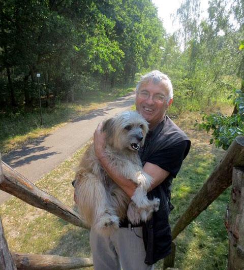 Neha-with-his-beloved-Sita-dog