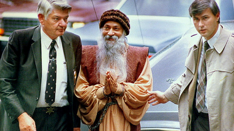 Osho arrested in Charlotte