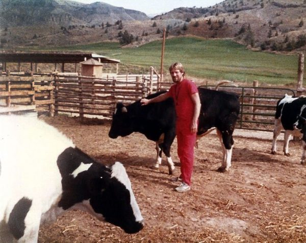 Chintan as cowboy