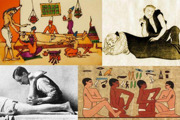Massage - the oldest medical practice