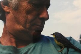 Chintan with bird