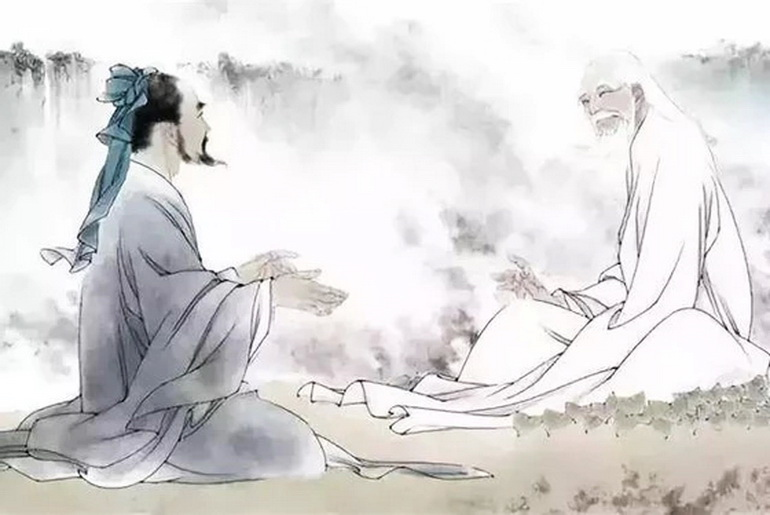 A spiritual adept approaches Lao Tzu with a wish