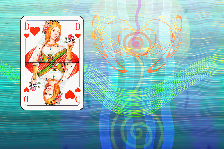 The Tarot of the Traveller: The Queen of Hearts