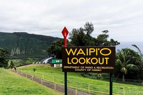 Waipio overlook