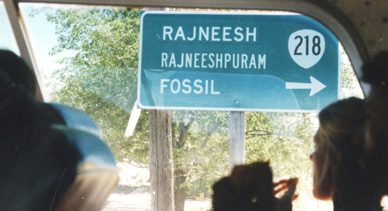 Rajneeshpuram street sign