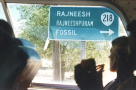leaving Rajneeshpuram