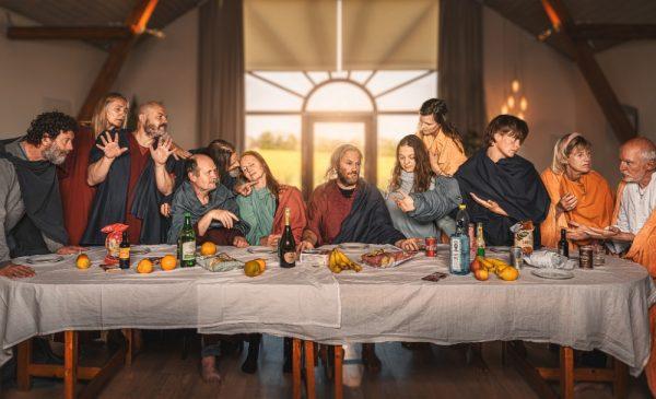 Michelangelo's Last Supper