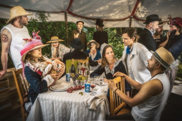 Luncheon of Boating Party by Renoir