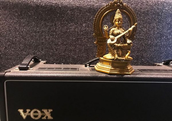 My amp with Saraswati