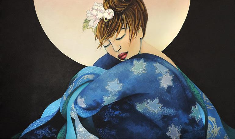 Listening to the Moon II by Deva Padma