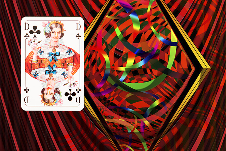 The Tarot of the Traveller: The Queen of Clubs