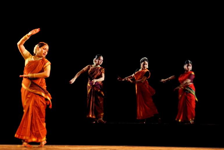 Prem Bhagwati performs kathak dance