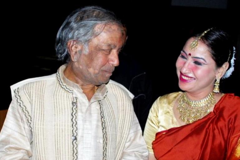 Prem Bhagwati wit Vibhushan Birju Maharaj