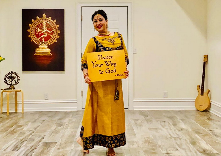 Ma Prem Bhagwati, Kathak dancer