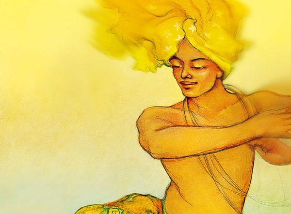 Dancing Buddha by Deva Padma