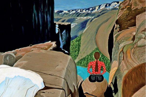 Inner Journey part of painting by Pratiksha Apurv