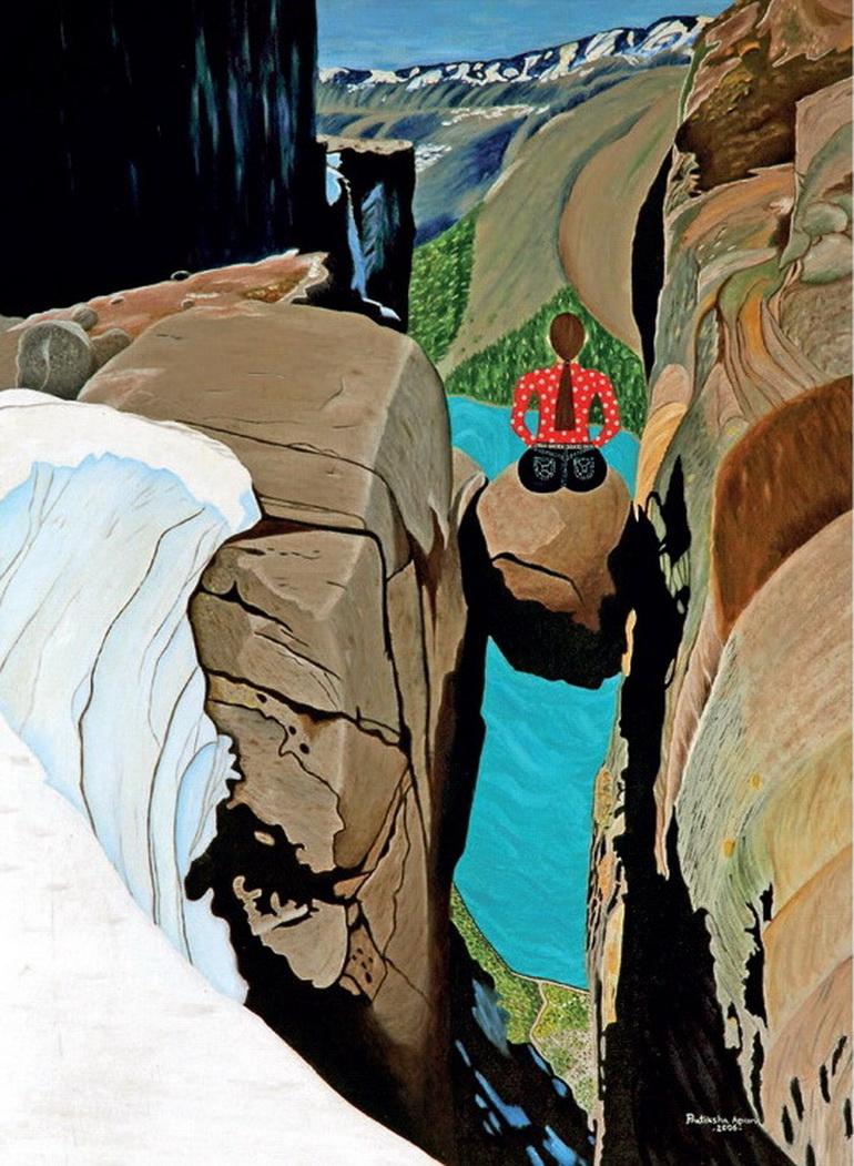 Inner Journey, Painting by Pratiksha Apurv