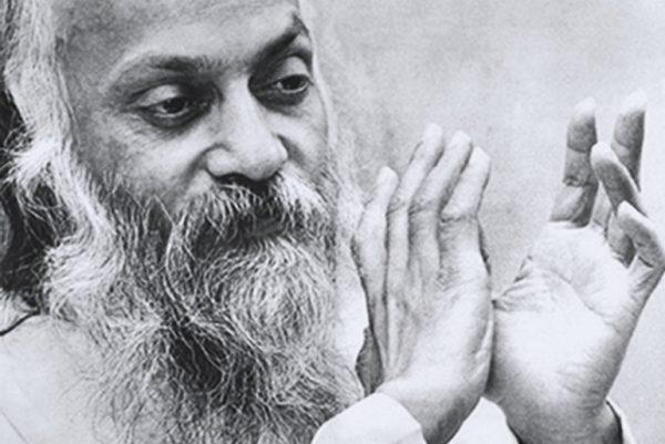 Osho in darshan 1970s