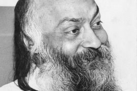Osho in a darshan 1980