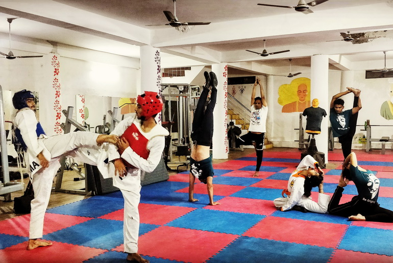 Training Session Taekwondo