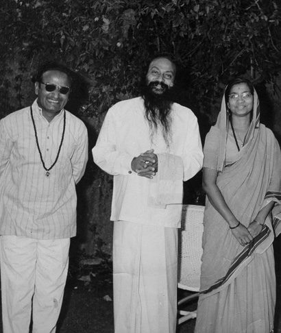 Osho with Sukhraj and his wife