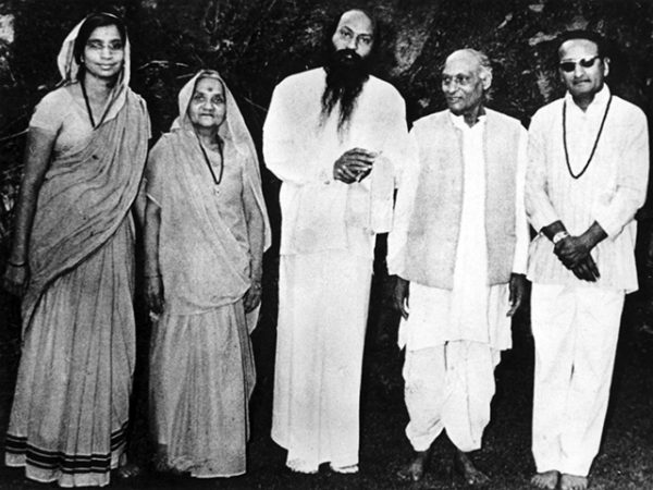 Sukhraj with his wife, Osho and Osho's parents