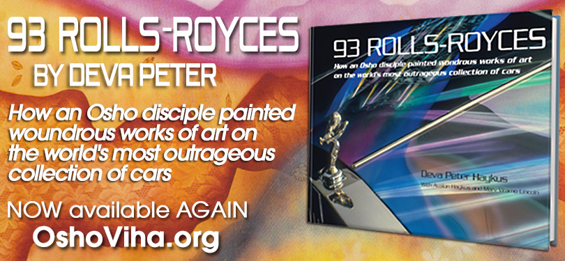 93 Rolls-Royces by Deva Peter available again from OshoViha
