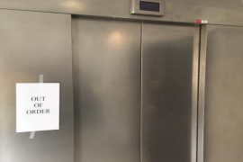 Out of order elevator