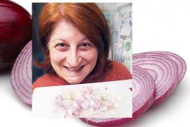 Tarisha with onions