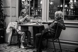 Two elderly ladies