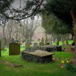 Welsh graveyard