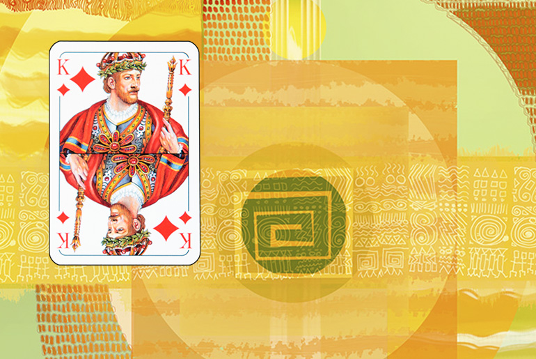 The Tarot of the Traveller: The King of Diamonds