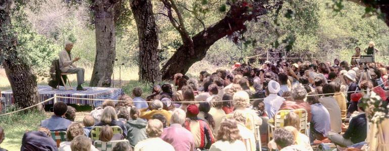 Krishnamurti in Oak Grove